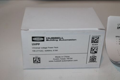 NEW HUBBELL UVPP UNIVERSAL VOLTAGE POWER PACK