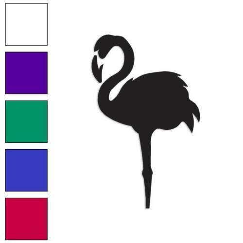 Flamingo Art Decal Sticker Choose Color + Size #863