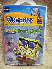 VTech V.Reader Sponge Bob Square Pants - Model Sponge - Ages 5-7  80-281400 NEW