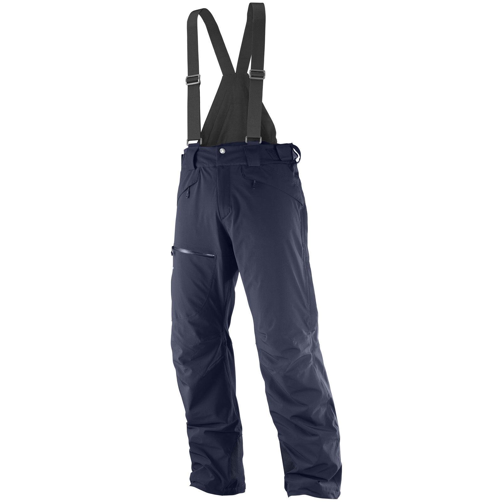 Salomon Chill Out Bib Pantaloni da Uomo Sci e Neve Snowboard Salopette Neve e 3ff98a