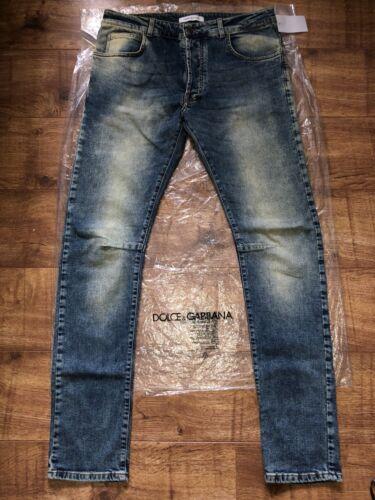 Stretch Denim Fit L32 W36 Rrp 379 Jeans £ Slim Blue It52 65Balmain QrdCExeoWB