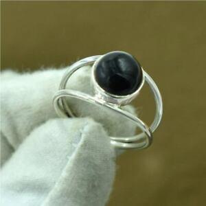Black Onyx Ring 925 Sterling Silver Ring Handmade Ring Boho Ring All Size KA-53