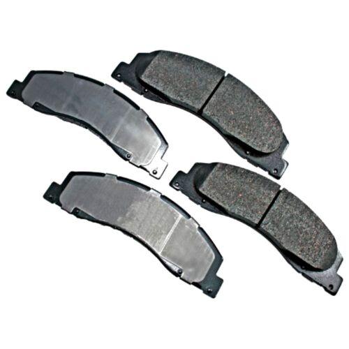 FORD BRAKE PADS FRONT SEMI METALLIC E-150 E-250 E-350 E-450 SUPER DUTY BRAKES