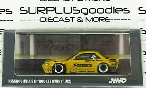INNO64-1-64-2021-Release-Yellow-NISSAN-SILVIA-S13-Pandem-Rocket-Bunny-V2-STANCE