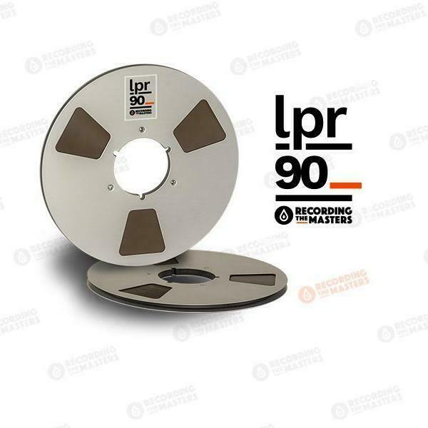 Recording The Masters LPR90 1 4  X 3608' REEL TO REEL Master Tape NEW