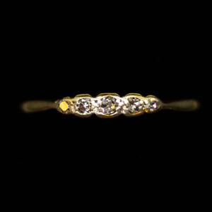 Antiguo-Diamante-Corte-Eduardiano-Petite-antiguos-5-18ct-y-anillo-de-platino