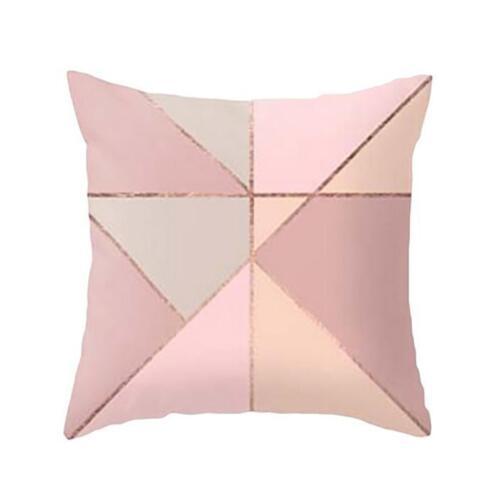 Geometric Marble Texture Throw Pillows Case Cushion Cover Sofa Home Room Decor