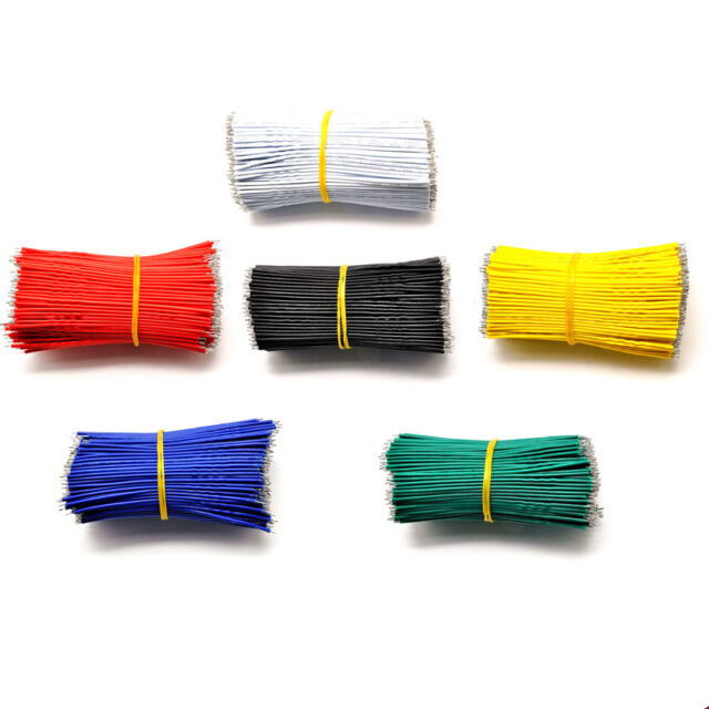 6-Colors Tinning PE Wire Cable 100MM 10CM Jumper Wire Copper Line Colorful New