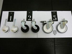Details About Ikea Kitchen Cart Swivel Casters Castor Wheels Make A Diy Cart Kallax Roskag