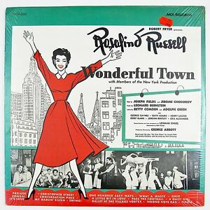 ROSALIND-RUSSELL-Wonderful-Town-LP-STILL-SEALED