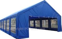 20' X 40'ft Outdoor Wedding Part Tent Gazebo Carport Shelter Garage Rental Blue