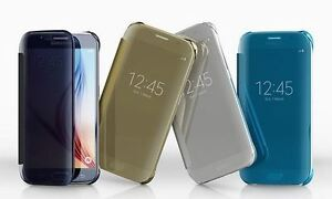 Samsung-Galaxy-Note-4-5-S6-S6-Edge-S7-Edge-Clear-View-Case-Flip-Cover