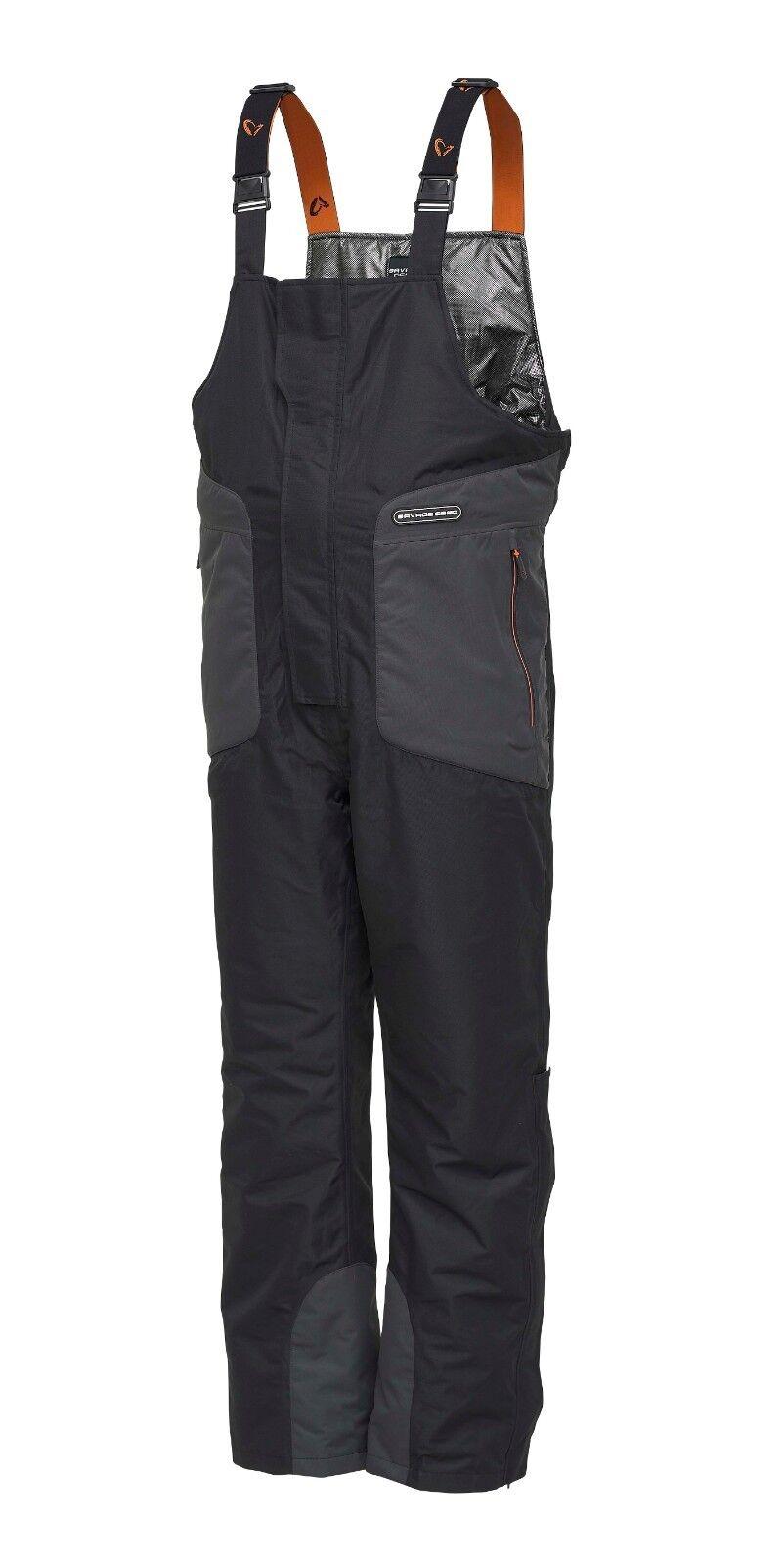 SAVAGE Gear heatlite Thermo BIB & BRACE Pantaloni Pesca Pike Zander Prossoatore A1