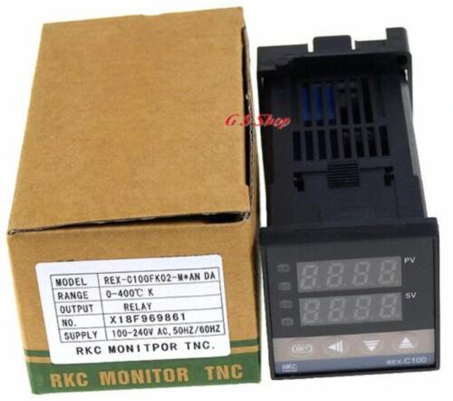 PID Digital Temperature Controller REX-C100 0 ~ 400 degré K type d/'SSR Output
