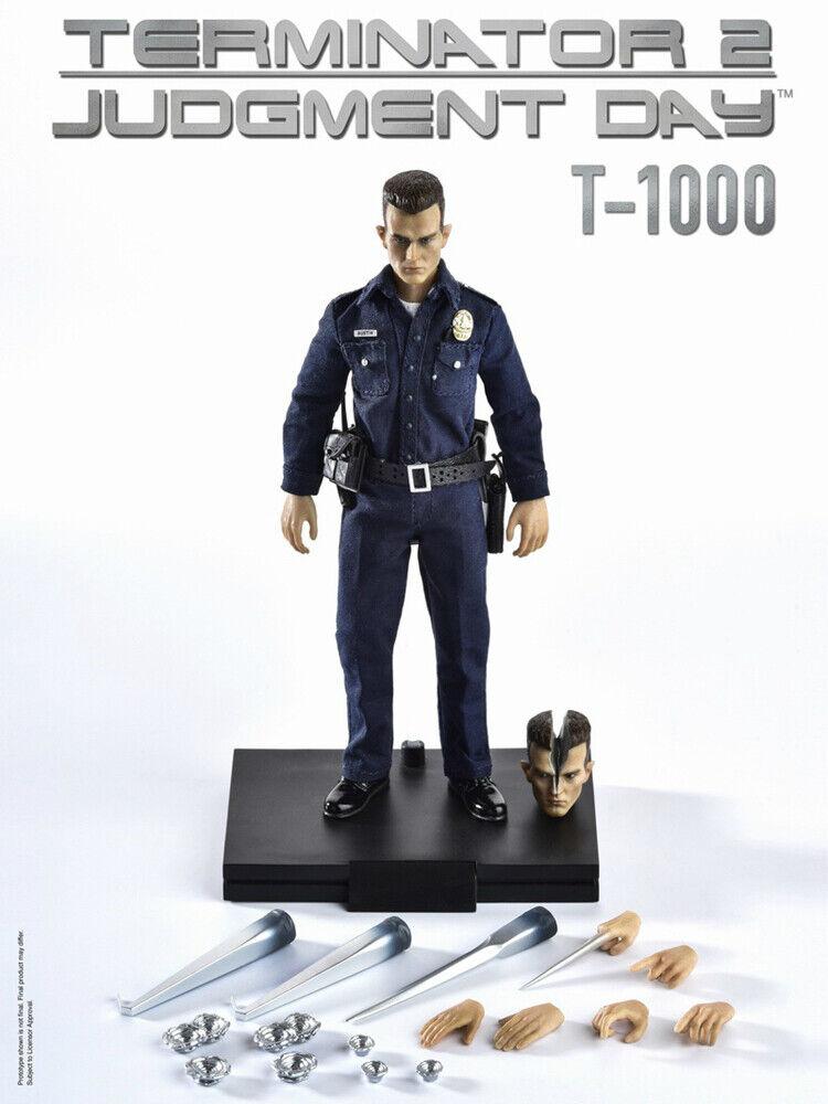 Förberödande 1  12 skala Great Twins Terminator T -1000 AUSTIN LAPD patrullera