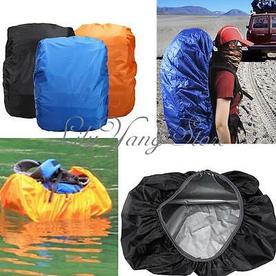 15-35L Outdoor Foldable Dust Rain Cover Backpack Rucksack Resist Water Proof Bag