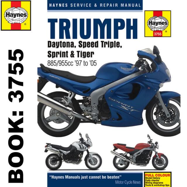 haynes manual 3755 triumph daytona 955i speed triple t595 sprint rh ebay co uk triumph sprint st rs 955i service manual 2002-en.pdf Triumph Sprint RS Parts