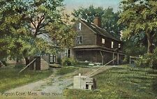 Pigeon,Cove,Cape Ann,Massachusetts,Witch House,c.1909