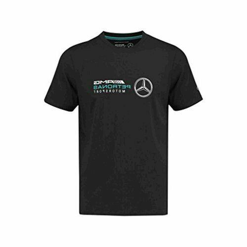 MERCEDES AMG PETRONAS Motorsport Team F1 Fahrer T-Shirt Schwarz L