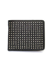 Luke 1977 Mens Muffin Studded Detail Leather Wallet Card Holder Organiser