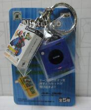 Nintendo Game Console Miniature Figure Key Chain Game Cube JAPAN Mario Kart