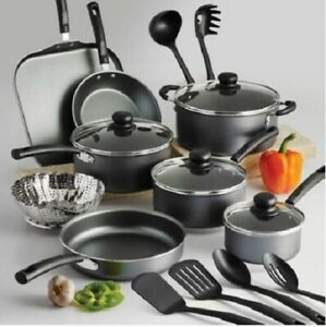 Cookware-Set-18-Piece-Pots-Pans-Non-Stick-Cooking-Aluminum-Professional-Kit-New