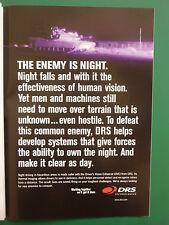 6/2008 PUB DRS TECHNOLOGIES DVE DRIVER VISION ENHANCER THERMAL IMAGING ADVERT
