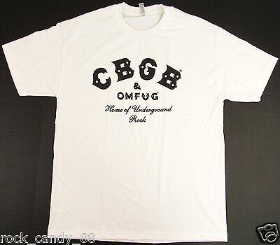 CBGB OMFUG T-shirt Vintage Punk Rock CBs Underground Tee JUNIORS Women New