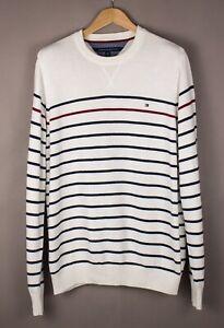 TOMMY-HILFIGER-Men-Casual-Knit-Jumper-Sweater-Size-XL-ATZ954