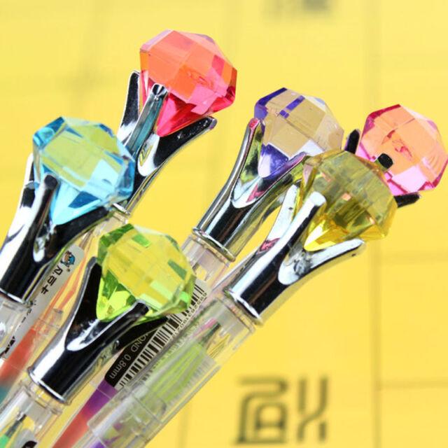 Diamond Gel Pen in 1 Pen Colorful Pen Novelty Pen Student Ink Pens