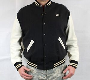 bb77bd893 Details about ONLY Vintage 1988 NIKE 100% Authentic Varsity Wool Leather  Jordan Jacket 46 XL