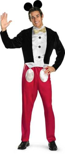 Details about  /Licensed Disney Mickey Mouse Adult Men Halloween Costume