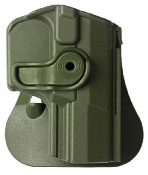 Z1420 IMI Defense Grün Right Hand Roto Holster for Walther M2, Navy SD, P99Q