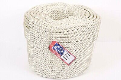 Everlasto Three Strand Nylon Mooring/anchoring Rope Various Lengths 6mm
