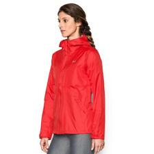 Under Armour Femmes Surge Veste De Sport Blouson Top Rouge Extérieur Zip