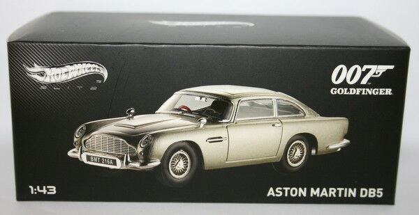 Hot wheels maßstab 1  43 - bly26 - james bond 007 aston martin db5 Goldfinger