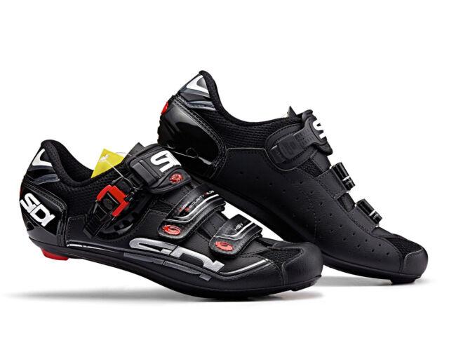 c5774fc943400 SIDI Genius Seven Carbon Black Road Cycling Shoes Gen 7 45 for sale ...