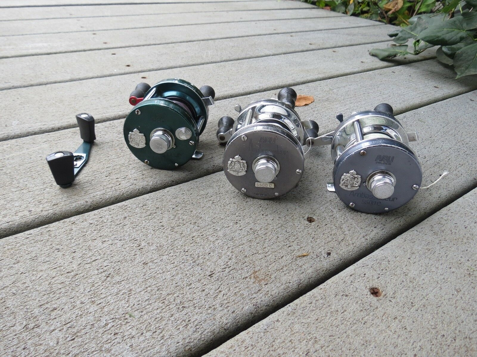 Ambassadeur 5500 C High Speed fishing reels and 5000D (Lot)