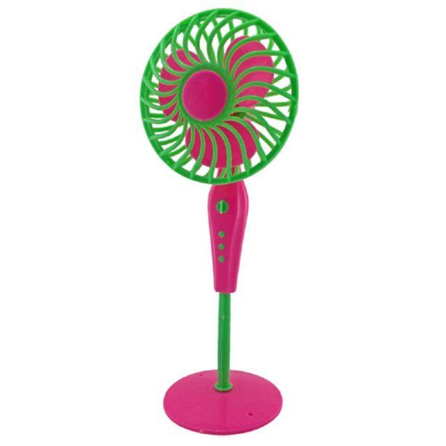 Plastic Floor Tower Fan 1:6 for Blythe Barbie Doll's House Dollhouse Furniture