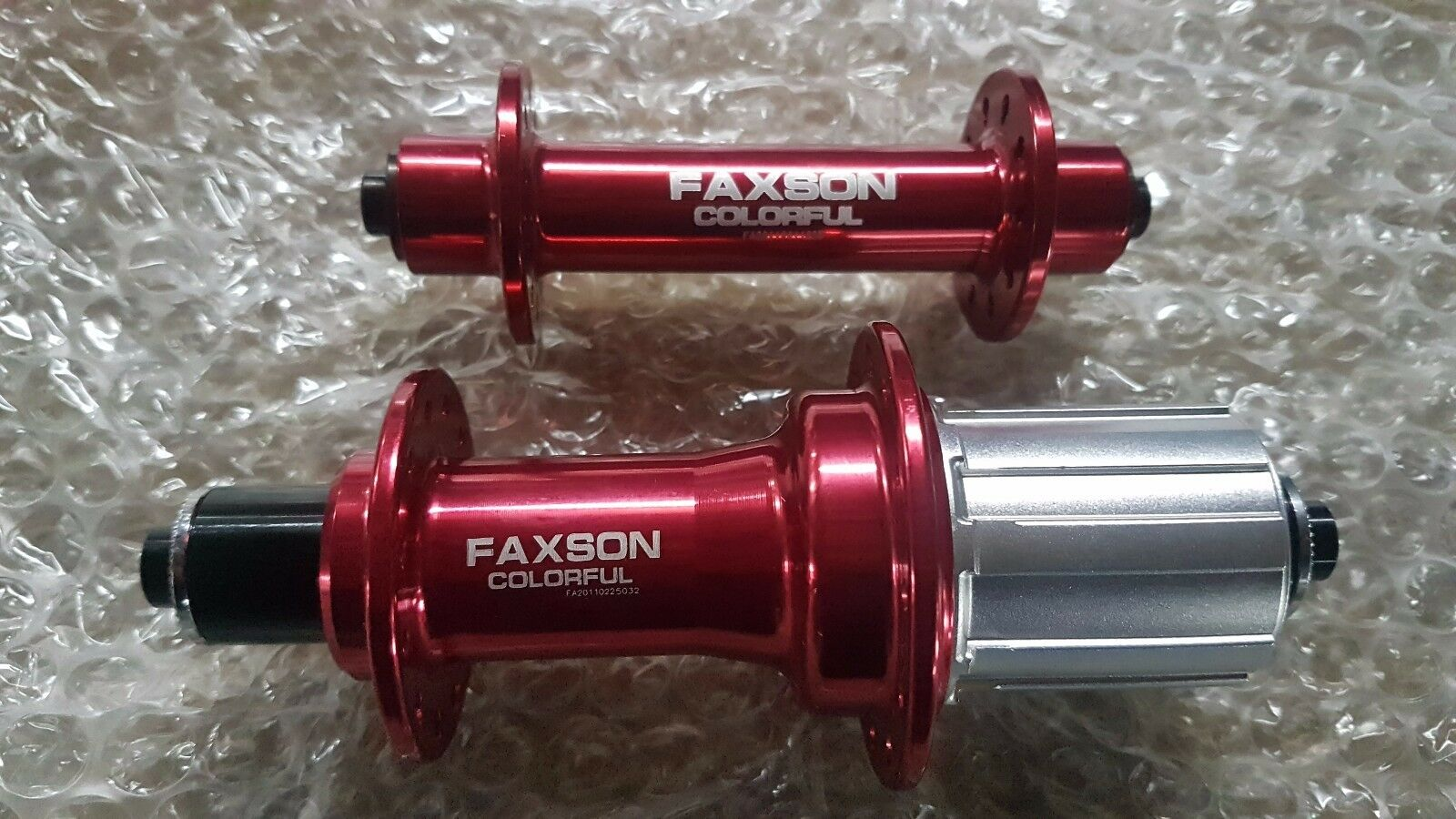Faxson Road F&R set Hub 20  24H 79 223g Shimano Red For Shimano 8, 9, 10 Speed  high discount