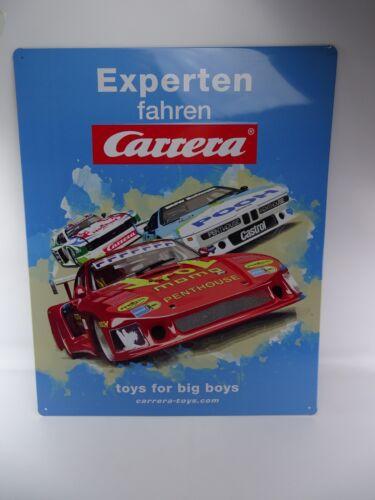 Neu !! Carrera Blechschild aus DRM Retro Race 50 x 40 cm