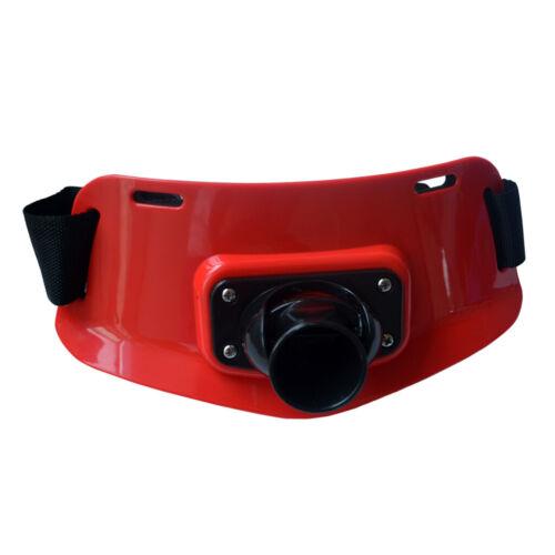 Rot Verstellbar Bauchgurt mit Rutenhalter Ruten Gürtel Angelruten Halter