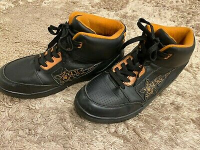 A BATHING APE BAPESTA Shark Sneakers Black Red US 9 42 2//3 27cm Japan EMS Free