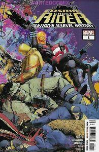 Cosmic Ghost Rider Destroys Marvel History 1-6 Complete Variant Comic Set Lot