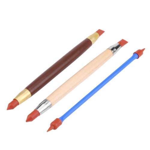 Clay Sculpting Set Wax Carving Pottery Tools Silicon Polymer Head Modeling Tool