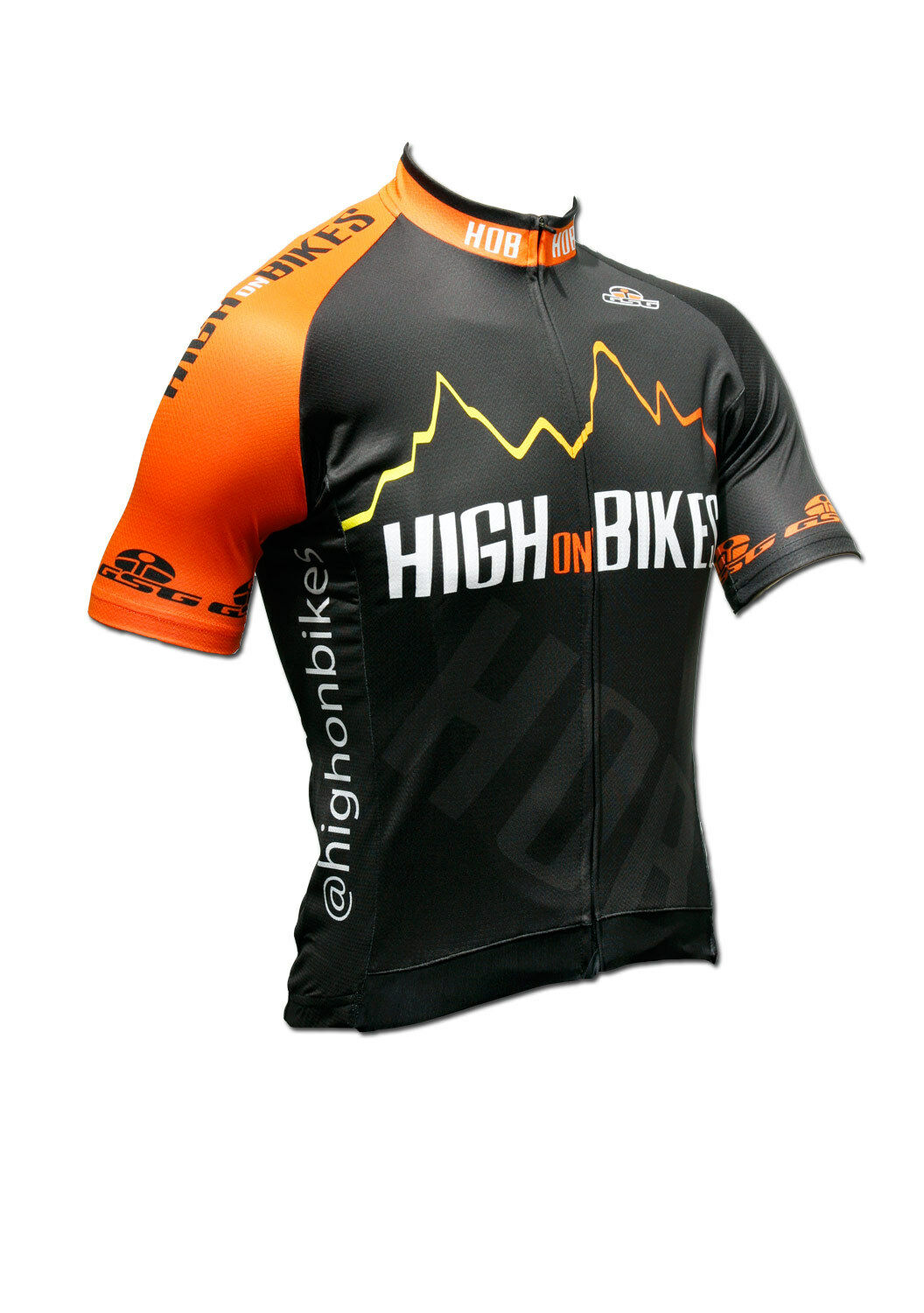 High on Bikes V4 - Short Sleeve Cycling Jersey