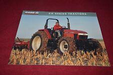 Case International CX50 CX60 CX70 CX80 CX90 CX Tractor Dealer's Brochure YABE10