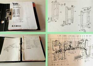 Yale-ERC-ERP-040-050-060-070-080-110-E-Gabelstapler-Ersatzteilliste-Parts-List