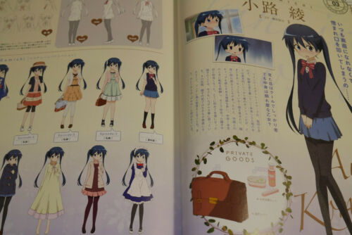"JAPAN Kin-iro Mosaic TV Anime Official Guide Book /""Mosaiclopedia/"""