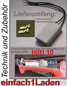 NEU-Kondensator-Hilti-TE-10-TE10-TE10s-TM8-TM-8-TE14-bsp-passend-Capacitor